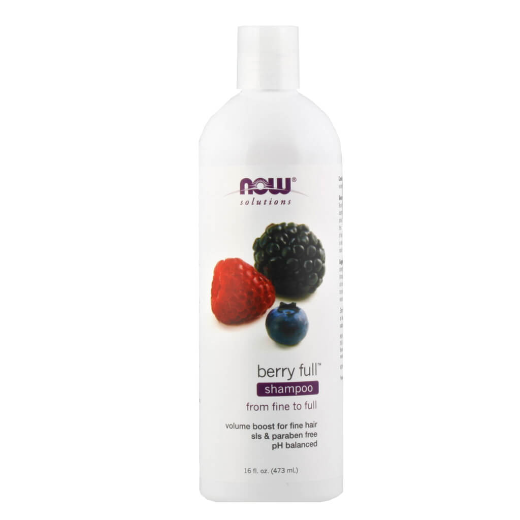 Now, Shampoo de Bayas, 473ml