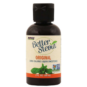 Now, Stevia Líquida, Original, 60 ml