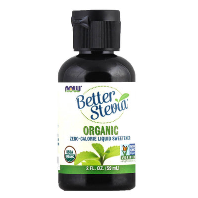 Now, Stevia Líquida, Orgánica, 59ml