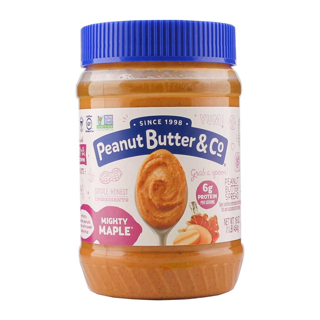 Peanut Butter & Co., Crema de Cacahuate con Miel de Maple, 454g