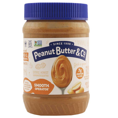 Peanut Butter and Co., Crema de Cacahuate, Cremosa, 454g