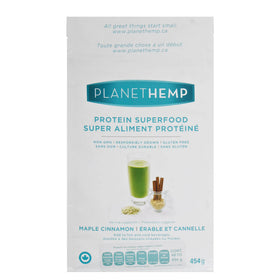 Planet Hemp, Proteína de Hemp sabor Maple y Canela, 454 g