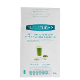 Planet Hemp, Proteína Vegetal de Hemp, Sabor Natural, 454 g