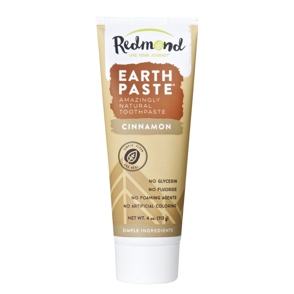 Redmond, Pasta Dental Natural, Sabor Canela, 113g