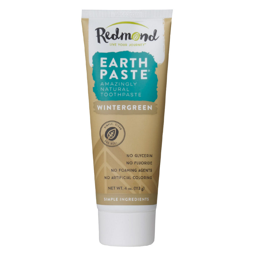 Redmond, Pasta Dental Natural, Sabor Gaultheria, 113g