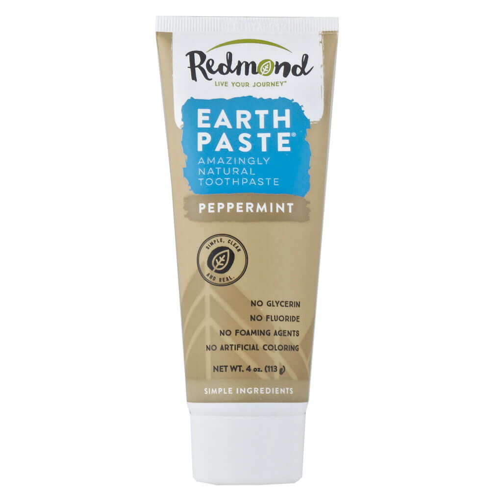 Redmond, Pasta Dental Natural, Sabor Menta, 113g