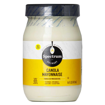 Spectrum Naturals, Mayonesa de Canola, 473ml