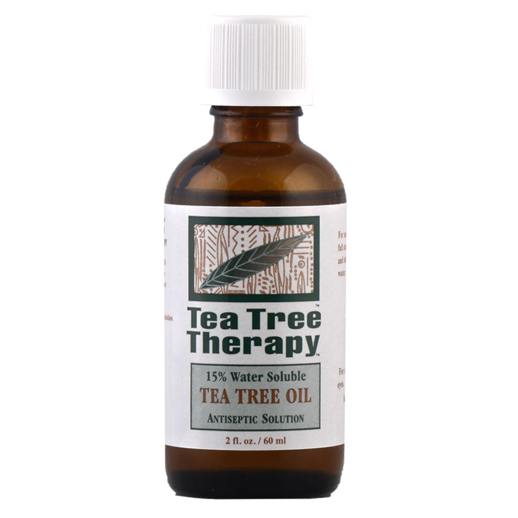 Tea Tree Therapy, Aceite de Árbol de Té, Disuelto 15% Agua, 60 ml