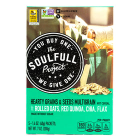 The Soulfull Project, Cereal Caliente Multigrano, Sin gluten, 200g