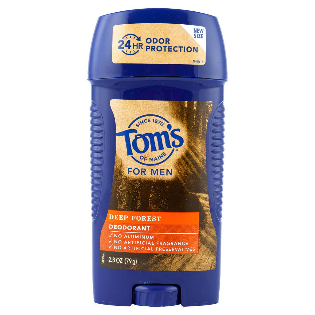 Tom's of Maine, Desodorante Natural para Hombres, Bosque Profundo, 79 g