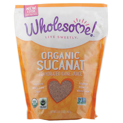 Wholesome Sweeteners, Azúcar de Caña Natural Orgánico, 907g