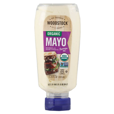R- Woodstock Farms, Mayonesa Orgánica, 333ml