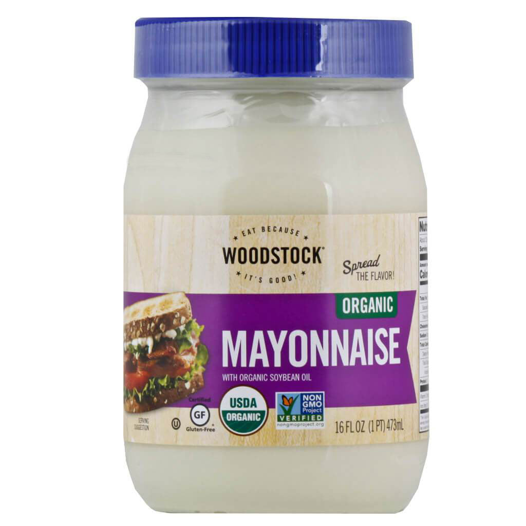 Woodstock Farms, Mayonesa Orgánica, 473 ml