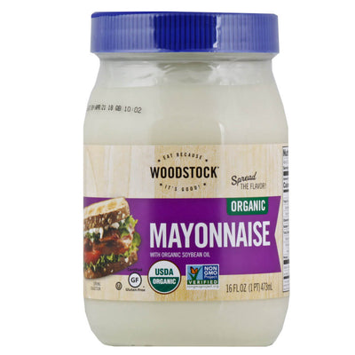 R- Woodstock Farms, Mayonesa Orgánica, 473 ml