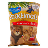 Barbara's Bakery, Snackimals, Galletas de Animalitos, Choco Chip, 60 g