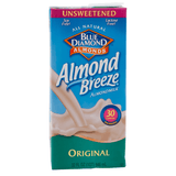 Blue Diamond, Leche de Almendras, Sabor Original, Sin Endulzar, 946ml