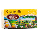 Celestial Seasonings, Té Herbal de Manzanilla, Sin Cafeína, 20 bolsitas, 25g