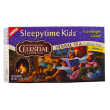 Celestial Seasonings, Té Herbal Sleepytime Kids De Uva, Sin Cafeína, 20 bolsitas, 29g
