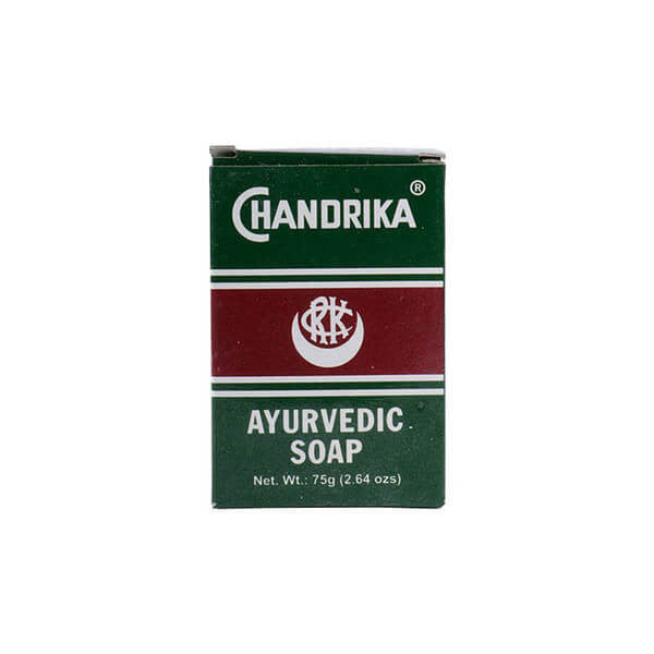 Herbal, Vedic, Chandrika, Jabón en Barra, Ayurvédico, 75 g