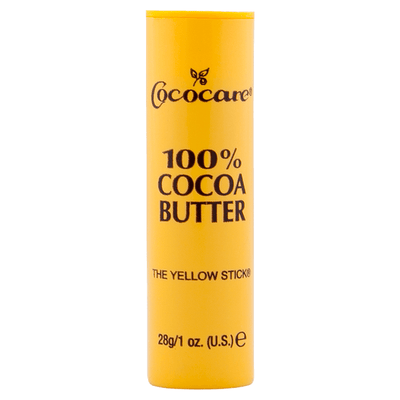 Cococare, the Yellow Stick, 100% Manteca de Cacao, 28g