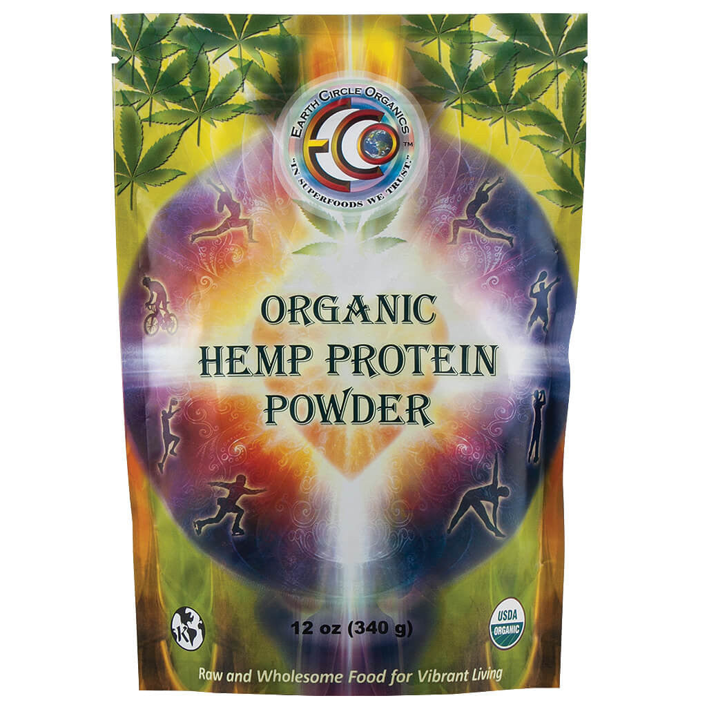 Earth Circle, Proteína de Hemp Orgánica en Polvo, 340 g