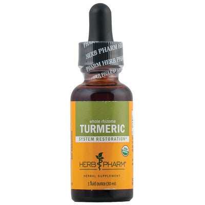 Herb Pharm, Extracto de Cúrcuma, Rizoma Entero, 30 ml