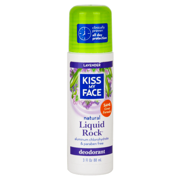 Kiss My Face, Desodorante Natural, Lavanda, 88 ml