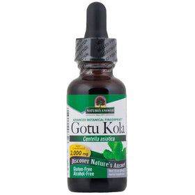 Nature's Answer, Gotu Kola, Sin Alcohol, 30 ml