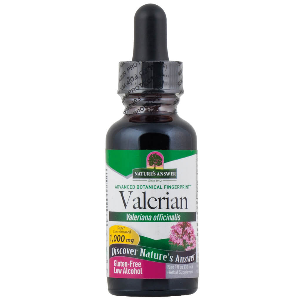 Nature's Answer, Raíz de Valeriana, 1000 mg, 30 ml