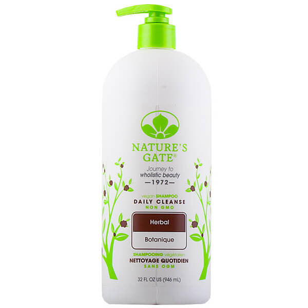 Nature's Gate, Shampoo Herbal de Uso Diario, 946 ml