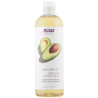 Now, Solutions, Aceite de Aguacate, 473 ml