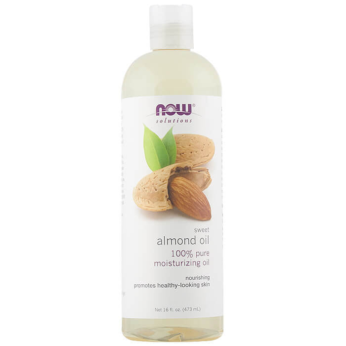 Now, Aceite de Almendras, 473 ml