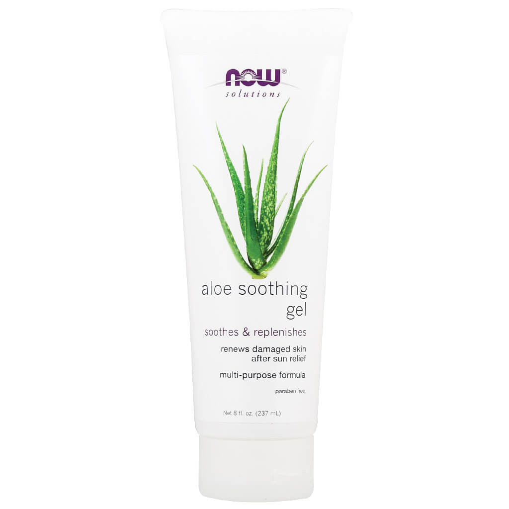 Now, Solutions, Gel de Aloe Vera, 237 g