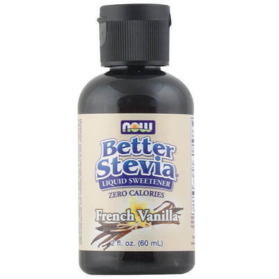 Now, Stevia Líquida, Original, Vainilla Francesa, 60 ml