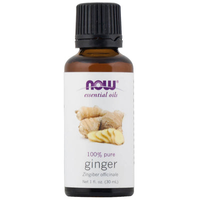 Now, Essential Oils, Aceite Esencial de Jengibre, 30 ml
