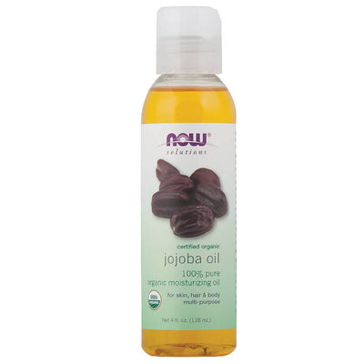 Now, Aceite de Jojoba, Orgánico, 118 ml