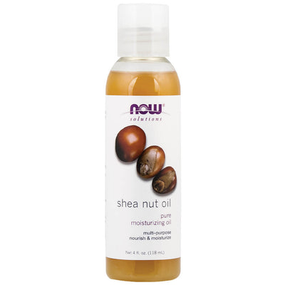 Now, Solutions, Aceite de Nuez de Karité, 118 ml