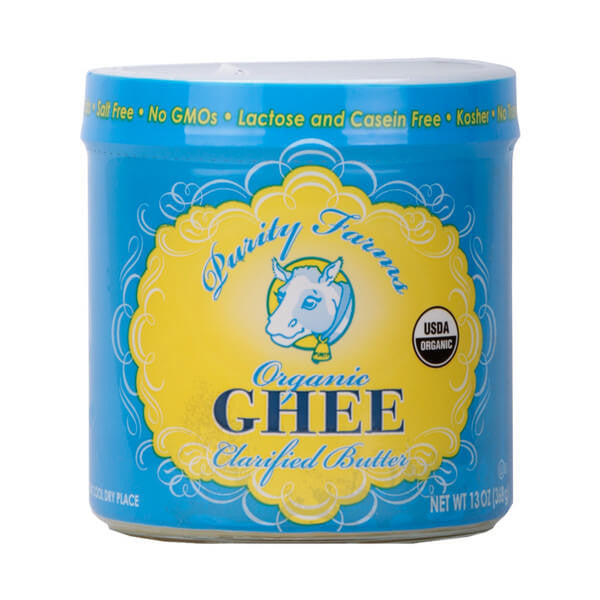 Purity Farms, Ghee, Mantequilla Clarificada Orgánica, 368 g