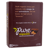 Pure Organic, Barra Brownie de Chocolate, caja con 12 barritas, 48g c/u