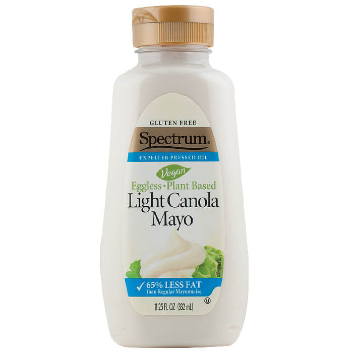 Spectrum Naturals, Mayonesa de Canola, Sin Huevo, Light, 332 g
