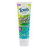 Tom's of Maine, Pasta Dental para Niños, Wicked Cool, Sin Fluoruro, Sabor Menta Suave, 119 g