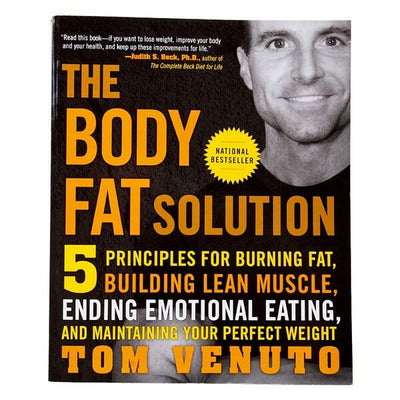 Venuto Tom, Body Fat Solution, La Solución a la Grasa Corporal, Libro en Idioma Inglés