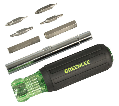 Greenlee 0153-47C 11-in-1 Multi-Functional Screwdriver And Nut driver