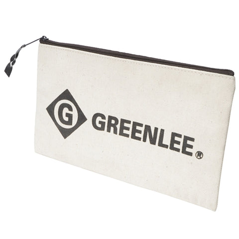 "Greenlee 0158-14 12"" Canvas Zipper Bag"