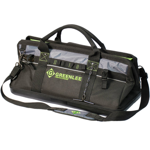 "Greenlee 0158-21 20"" Multi-Pocket Heavy-Duty Tool Bag"