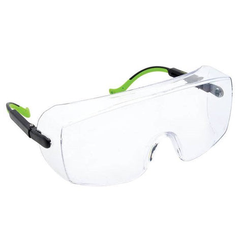 Greenlee 01762-07C Clear Over-Wrap Safety Glasses
