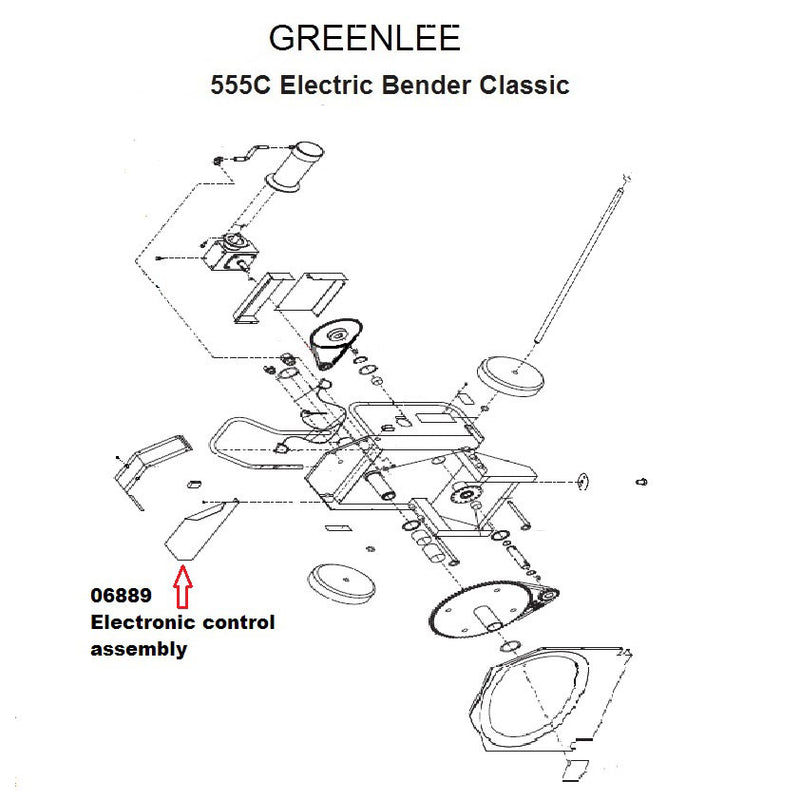Greenlee 6889 Electronic Control Assembly