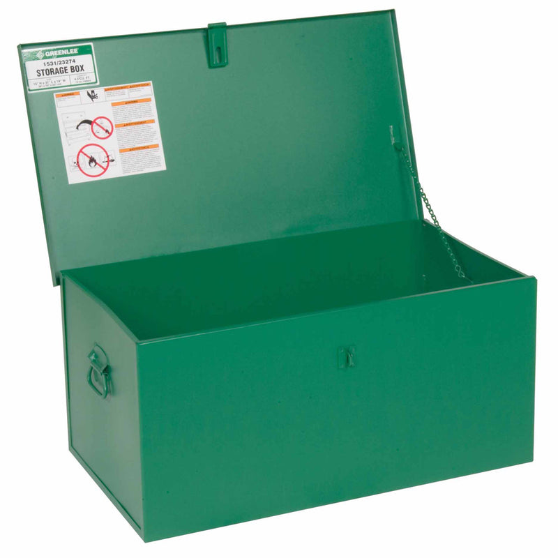 "Greenlee 1531 Welder's Storage Box 15"" x 31"" x 18"""