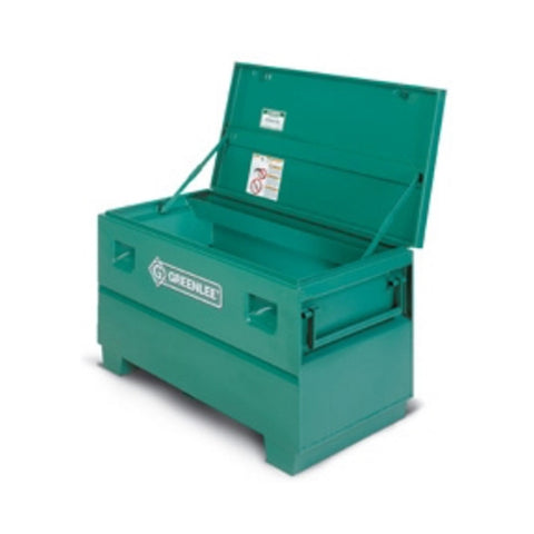 "Greenlee 2448 Mobile Storage Chest 48 x 24 x 24"" for Job site storage"