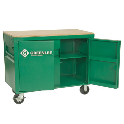 "Greenlee 3548 Mobile Work Bench/Cabinet, 30"" x 48"" x 24"""